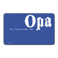 "Remember Gedeck Brett ""Für Opa"""