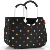 Reisenthel Loopshopper L dots schwarz