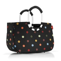 Reisenthel Loopshopper M dots schwarz