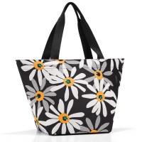 Reisenthel Shopper M margarite schwarz